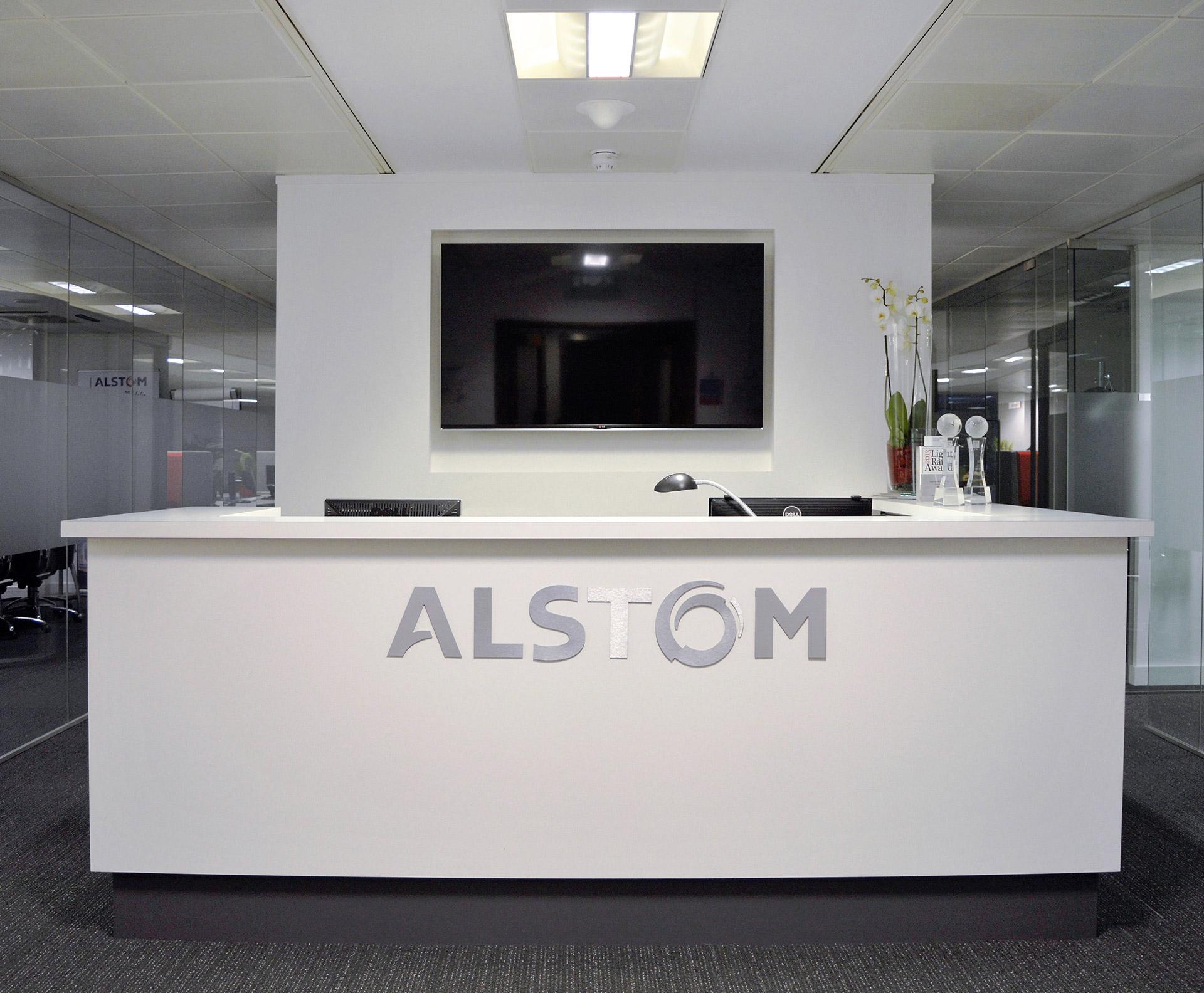 Alstom Accent Office Interiors Portfolio Item
